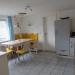 Sitzecke in der Küche, Zugang zum Waschraum