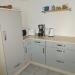 Küche mit Küchengeräten