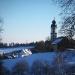 Sicht auf den Kirchturm in Grafenhausen