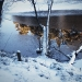 Der Schlüchtsee von Eis bedeckt